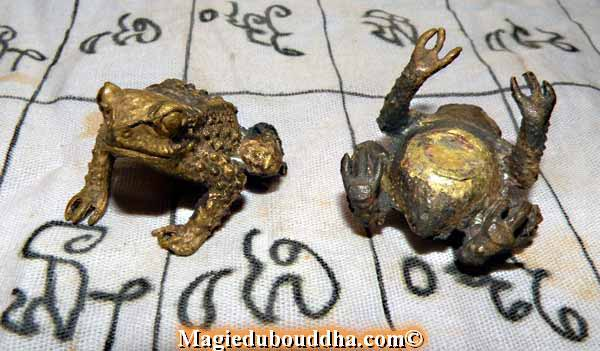 amulette crapaud