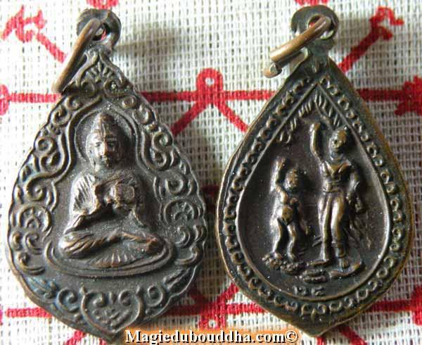 buddha medal
