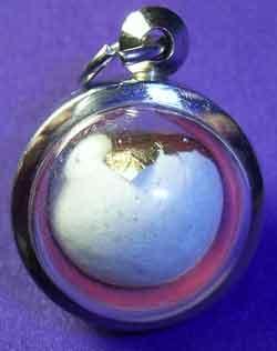 amulette bille look aum thailande vénérable