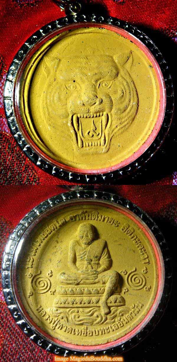 tigre lp thuat amulette de thailande