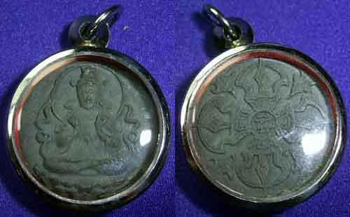 amulette tibétaine de dolma