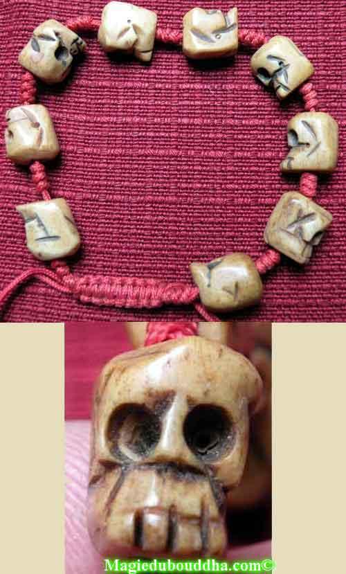 bracelet tibétain cranes