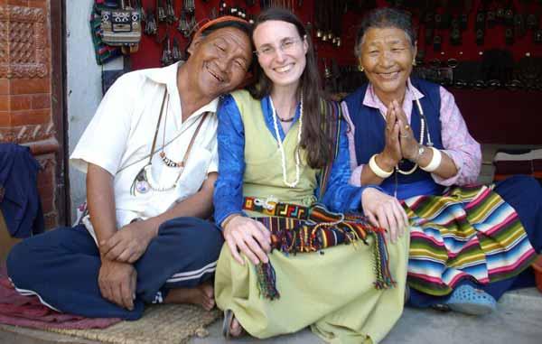 old tibetan couple