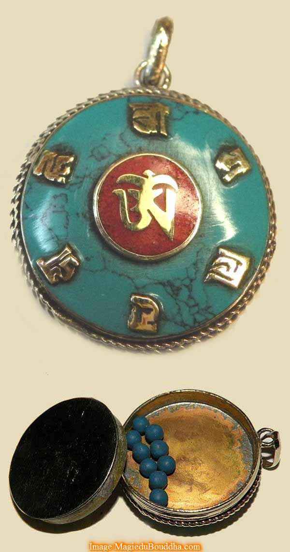 amulette de santé tibétaine