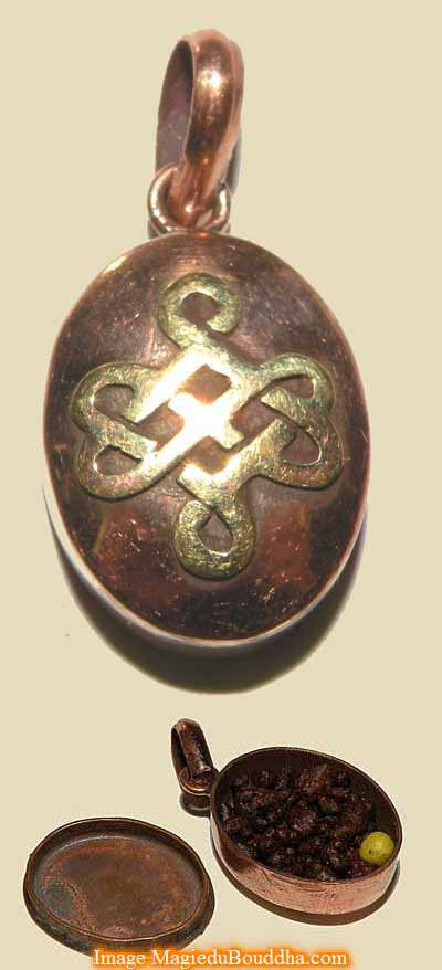 amulette de richesse Tibétaine