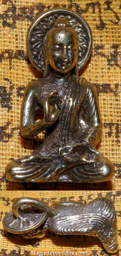 bouddha amulette thai