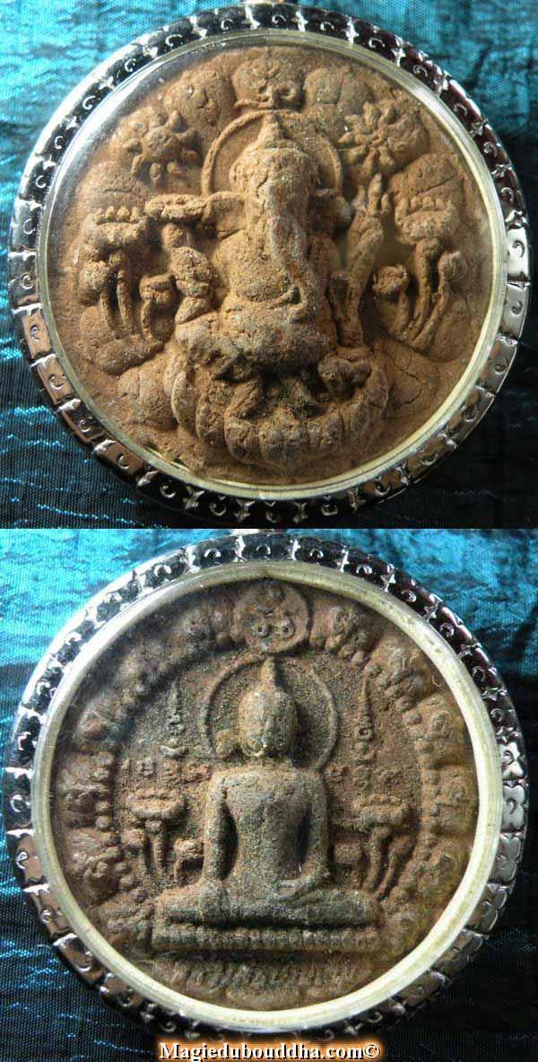 Amulette Thai du dieu éléphant.