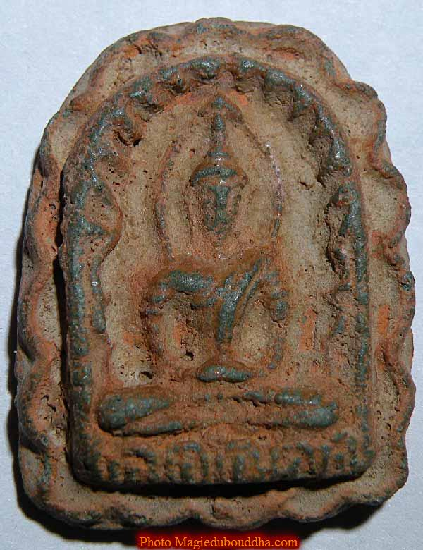 antique phra sumkho thai amulet