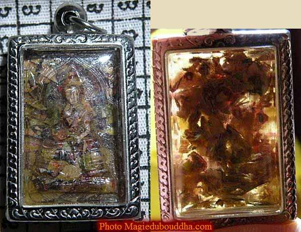 banknote magic amulet phra somdej