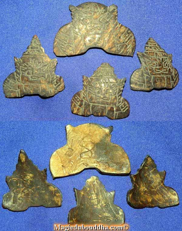 amulette thai phra rahui noix coco sacrée