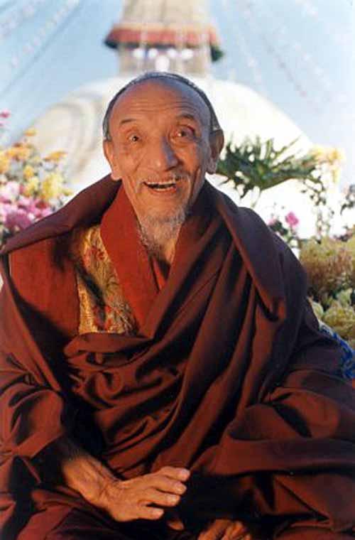 Son Eminence Chogye Trichen Rinpoché  Ct1