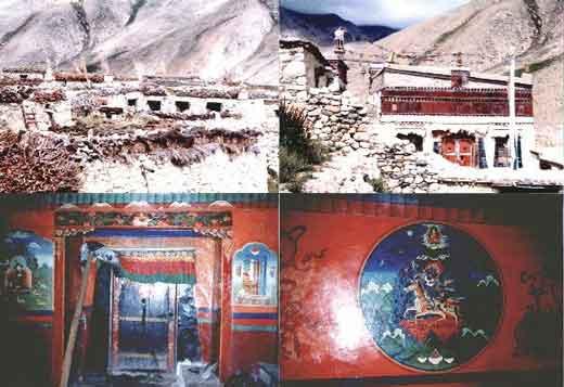 Le Très Vénérable Lama Guendune Rimpotché  Grotte-milarepa