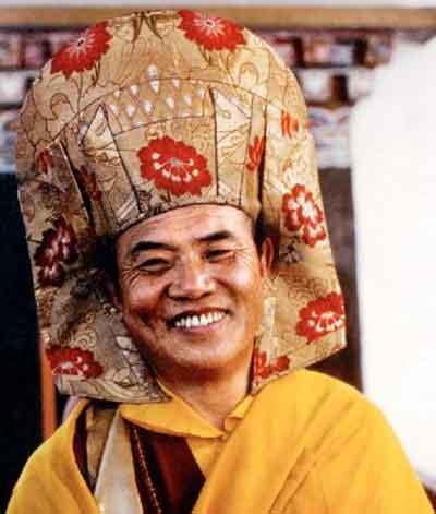 Le Très Vénérable Lama Guendune Rimpotché  Karmapa
