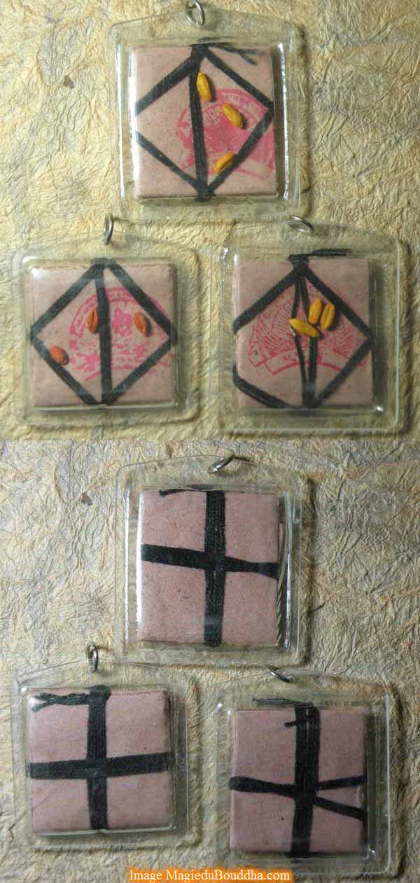 amulette dakini noire