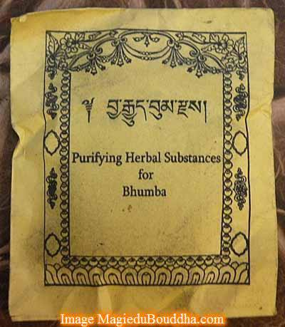 purifying herbal substances for bhumpa