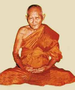 luang phor sawai of wat pidharam
