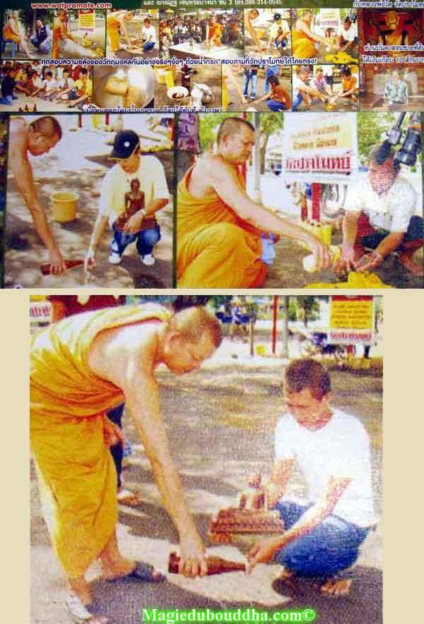 test de l'acide amulette thailande magie