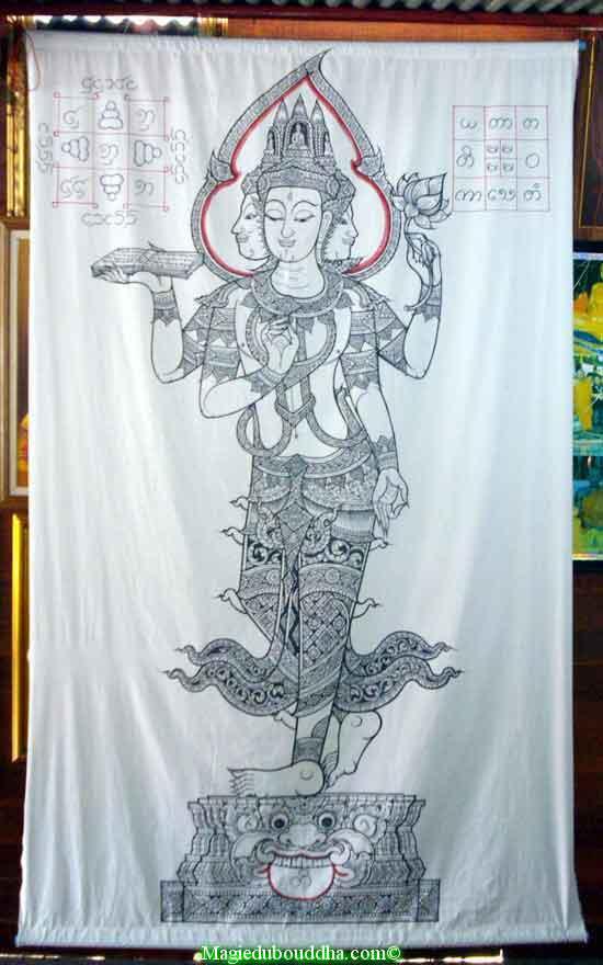 pa yant pentacle thai