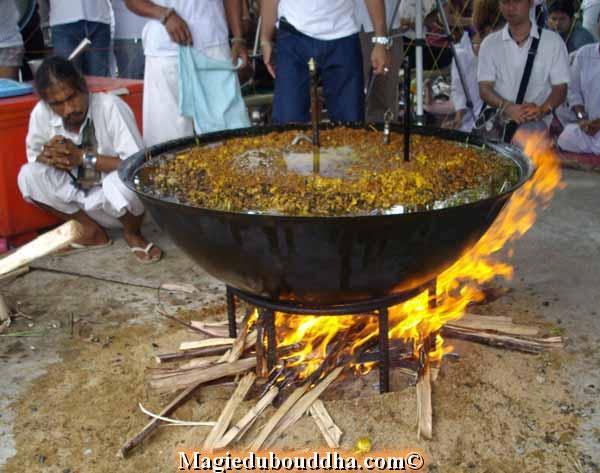 ritual fire thailand lersi