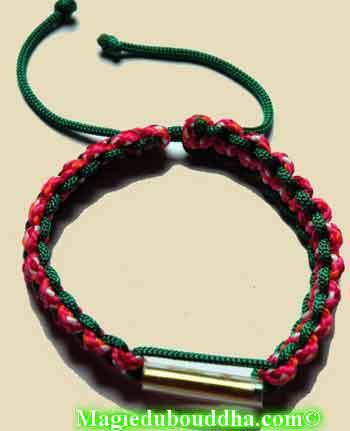 bracelet bénit de temple thai