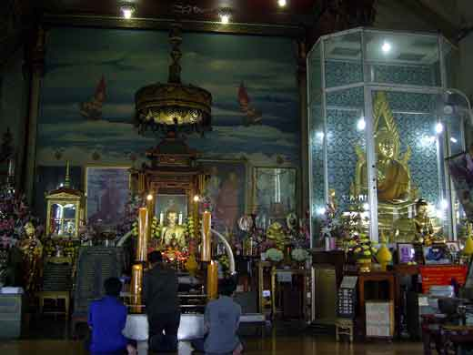 le hall du Temple de Lp toe