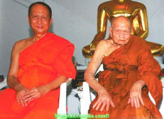 Lp Somchai et LP Tim